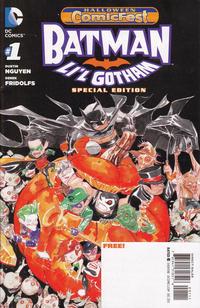Cover Thumbnail for Halloween Comic Fest 2013 - Batman: Li'l Gotham Special Edition (DC, 2013 series) #1