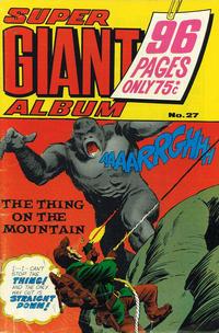 Cover Thumbnail for Super Giant Album (K. G. Murray, 1976 series) #27