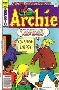 Cover Thumbnail for Archie (Archie, 1959 series) #302