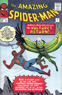 Cover Thumbnail for The Amazing Spider-Man (Marvel, 1963 series) #7 [British Price Variant]