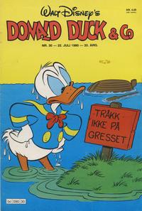 Cover Thumbnail for Donald Duck & Co (Hjemmet / Egmont, 1948 series) #30/1980