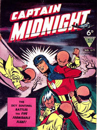 Cover Thumbnail for Captain Midnight (L. Miller & Son, 1950 series) #117