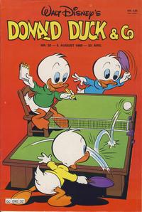 Cover Thumbnail for Donald Duck & Co (Hjemmet / Egmont, 1948 series) #32/1980
