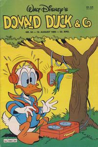 Cover Thumbnail for Donald Duck & Co (Hjemmet / Egmont, 1948 series) #34/1980