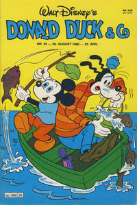 Cover Thumbnail for Donald Duck & Co (Hjemmet / Egmont, 1948 series) #35/1980