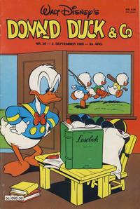 Cover Thumbnail for Donald Duck & Co (Hjemmet / Egmont, 1948 series) #36/1980