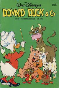 Cover Thumbnail for Donald Duck & Co (Hjemmet / Egmont, 1948 series) #38/1980
