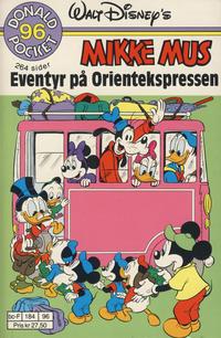 Cover Thumbnail for Donald Pocket (Hjemmet / Egmont, 1968 series) #96 - Mikke Mus Eventyr på Orientekspressen [1. opplag]
