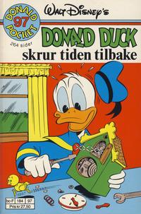 Cover Thumbnail for Donald Pocket (Hjemmet / Egmont, 1968 series) #97 - Donald Duck skrur tiden tilbake [1. opplag]