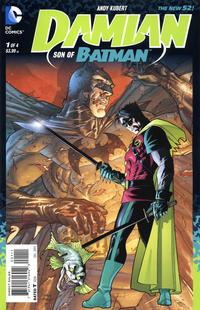 Cover Thumbnail for Damian: Son of Batman (DC, 2013 series) #1