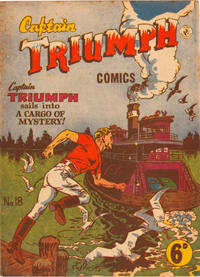 Cover Thumbnail for Captain Triumph Comics (K. G. Murray, 1947 series) #18