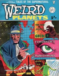 Cover Thumbnail for Weird Planets (Alan Class, 1962 series) #2