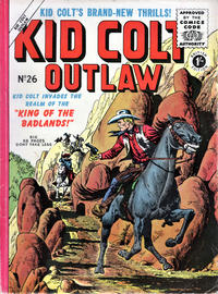 Cover Thumbnail for Kid Colt Outlaw (Thorpe & Porter, 1950 ? series) #26