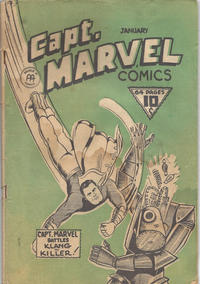 Cover Thumbnail for Captain Marvel Comics (Anglo-American Publishing Company Limited, 1942 series) #v2#1