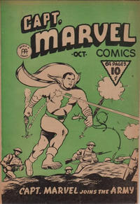 Cover Thumbnail for Captain Marvel Comics (Anglo-American Publishing Company Limited, 1942 series) #v1#10
