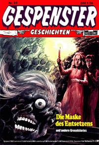 Cover Thumbnail for Gespenster Geschichten (Bastei Verlag, 1974 series) #59