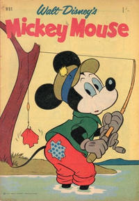 Cover Thumbnail for Walt Disney's Mickey Mouse (W. G. Publications; Wogan Publications, 1956 series) #91
