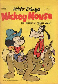 Cover Thumbnail for Walt Disney's Mickey Mouse (W. G. Publications; Wogan Publications, 1956 series) #103