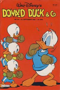 Cover Thumbnail for Donald Duck & Co (Hjemmet / Egmont, 1948 series) #39/1980