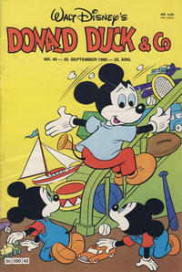 Cover Thumbnail for Donald Duck & Co (Hjemmet / Egmont, 1948 series) #40/1980