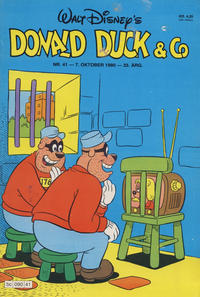 Cover Thumbnail for Donald Duck & Co (Hjemmet / Egmont, 1948 series) #41/1980