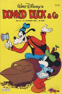 Cover Thumbnail for Donald Duck & Co (Hjemmet / Egmont, 1948 series) #43/1980