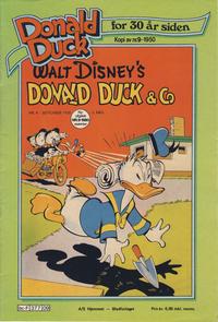 Cover Thumbnail for Donald Duck for 30 år siden (Hjemmet / Egmont, 1978 series) #9/1980
