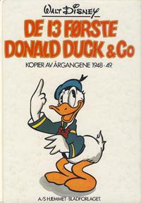 Cover Thumbnail for De 13 Første Donald Duck & Co (Hjemmet / Egmont, 1980 series)