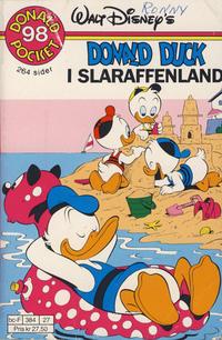 Cover Thumbnail for Donald Pocket (Hjemmet / Egmont, 1968 series) #98 - Donald Duck i Slaraffenland [Reutsendelse]