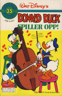 Cover Thumbnail for Donald Pocket (Hjemmet / Egmont, 1968 series) #35 - Donald Duck spiller opp! [2. opplag]