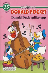 Cover Thumbnail for Donald Pocket (Hjemmet / Egmont, 1968 series) #35 [4. opplag]