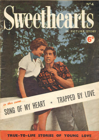 Cover for Sweethearts (World Distributors, 1955 ? series) #4