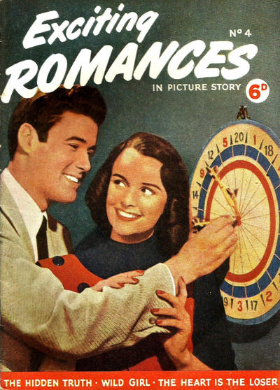 Cover for Exciting Romances (World Distributors, 1952 series) #4