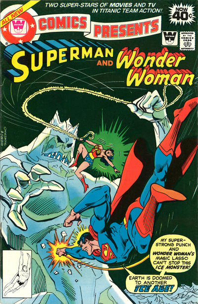Cover for DC Comics Presents (DC, 1978 series) #9