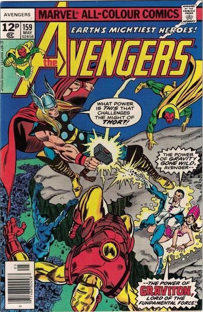 Cover for The Avengers (Marvel, 1963 series) #159 [Regular Edition]
