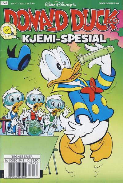 Cover for Donald Duck & Co (Hjemmet / Egmont, 1948 series) #41/2013