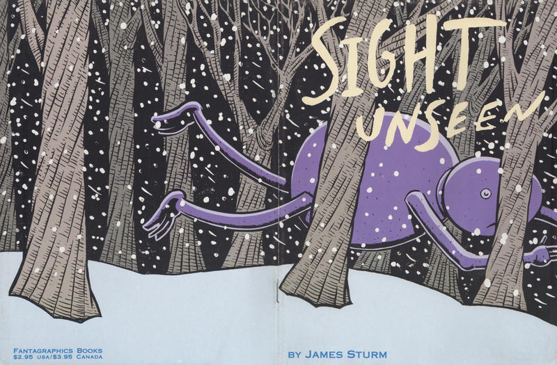 Cover for Sight Unseen (Fantagraphics, 1997 series)