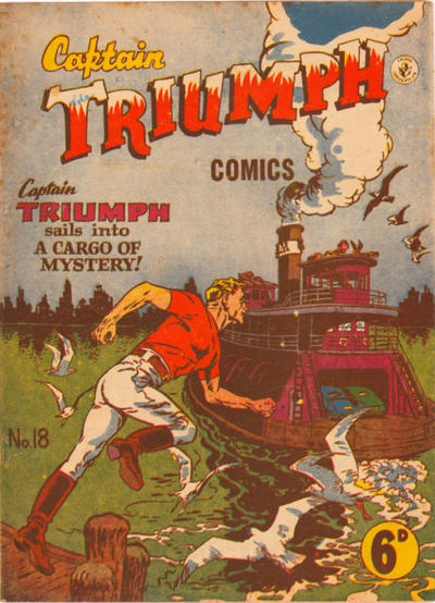 Cover for Captain Triumph Comics (K. G. Murray, 1947 series) #18