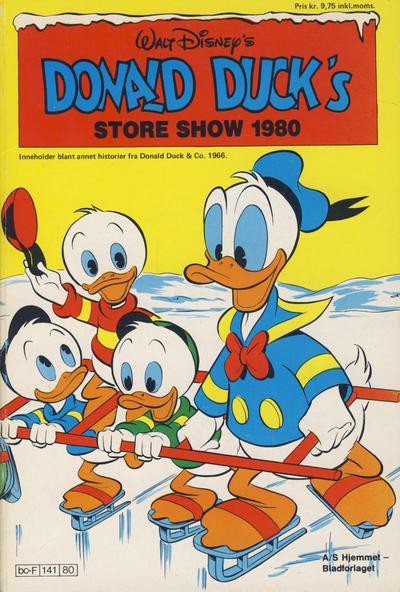 Cover for Donald Ducks Show (Hjemmet / Egmont, 1957 series) #[38] - Store show 1980