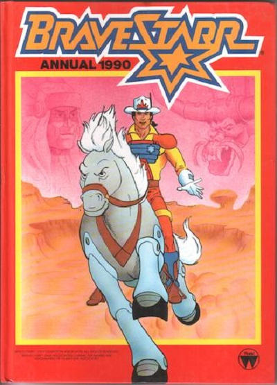 Cover for Bravestarr Annual (World Distributors, 1986 ? series) #1990