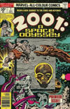 Cover for 2001, A Space Odyssey (Marvel, 1976 series) #1 [British Price Variant]