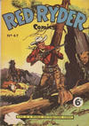 Cover for Red Ryder Comics (World Distributors, 1954 series) #47