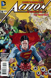 Cover Thumbnail for Action Comics (2011 series) #18 [Paolo Rivera Variant Cover]