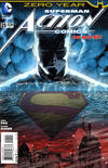 Cover Thumbnail for Action Comics (2011 series) #25 [Direct Sales]