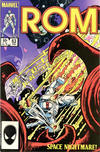 Cover for ROM (Marvel, 1979 series) #63 [Newsstand Edition]