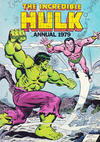 Cover for Incredible Hulk Annual (World Distributors, 1978 series) #1979