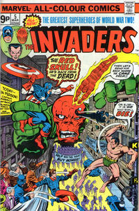 Cover Thumbnail for The Invaders (Marvel, 1975 series) #5 [British Price Variant]