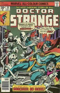 Cover Thumbnail for Doctor Strange (Marvel, 1974 series) #19 [British Price Variant]
