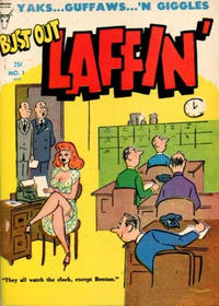 Cover Thumbnail for Bust Out Laffin' (Toby, 1954 series) #1