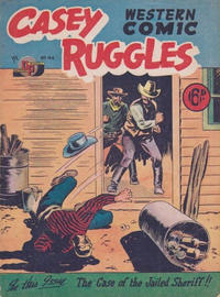 Cover Thumbnail for Casey Ruggles Western Comic (Donald F. Peters, 1951 series) #44